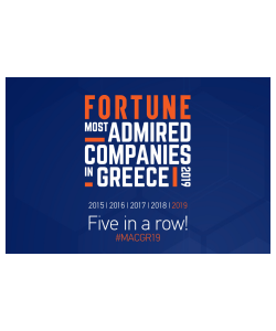 KLEEMANN is on the list of the Most Admired Companies in Greece!