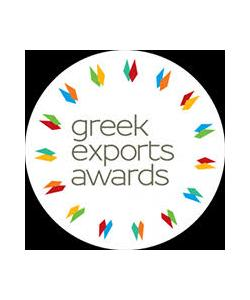 Gold at the Greek Exports Awards 2019