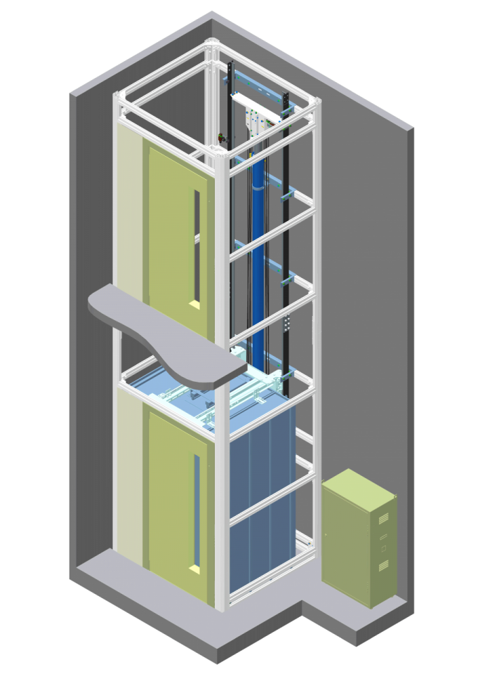 Maison LIFT Basic axonometric