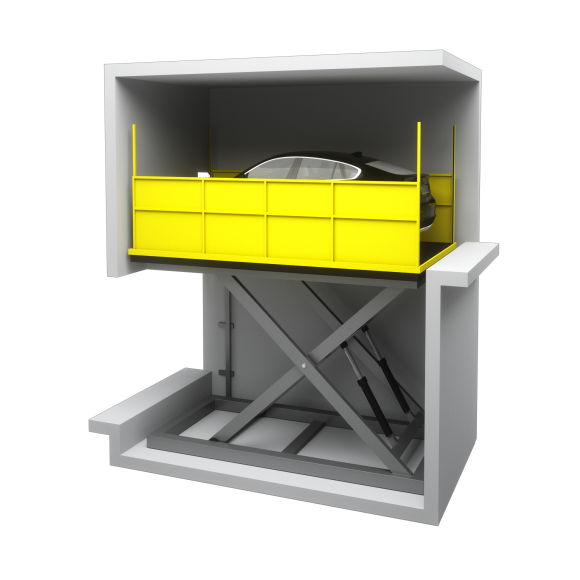 Parking Systems Scissor Lift Platform