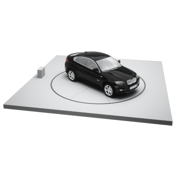 Parking Systems Vehicle Turntable