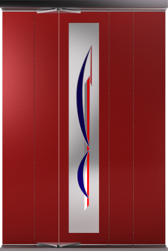 Door (folding) Assymetric