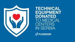 Donation to Medical Centers in Serbia